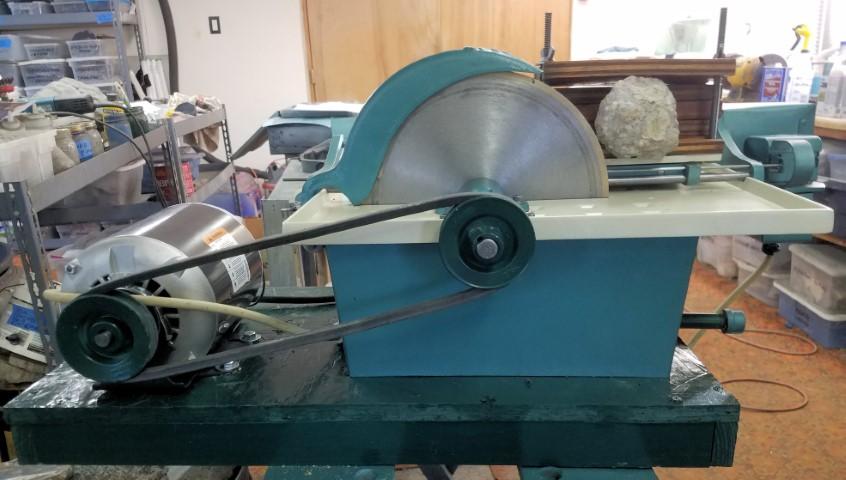 Refurbished & Rebuilt Lapidary Equipment for Sale